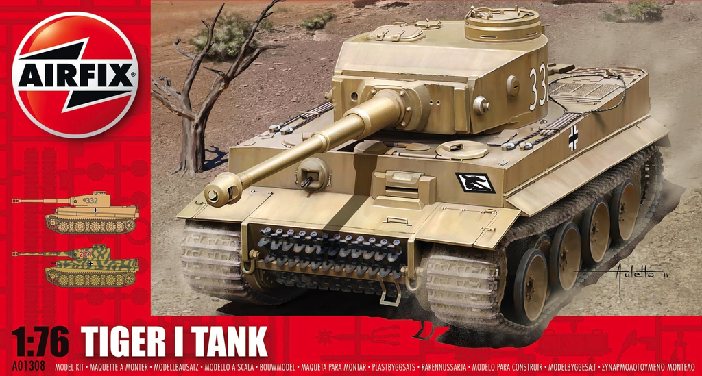 Plastic Kits Airfix Tiger I Tank 1:76