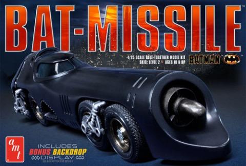 Plastic Kits AMT (g) 1/25 Scale -  Batman 1989 Batmissle *D