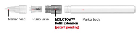 General Molotow Series A Refill Extension
