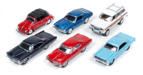Diecast Diecast 1:64 Johnny Lightning Classic Gold Wave 1A Assorted
