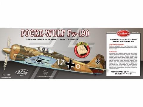 Toys Guillows Focke Wulf FW-190 Kit