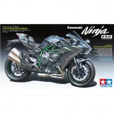 Plastic Kits TAMIYA (g) Kawasaki Ninja H2 Carbon Bike -  1/12 Scale