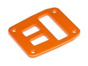 Parts HPI Center Diff. Plate (Orange)  suit Trophy Truggy Flux