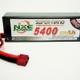 Battery LiPo NXE 11.1v 5400mah 60c H/case Lipo w/Deans