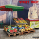 Parts Miniart 1/35 Street Fruit Shop Plastic Model Kit