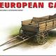 Plastic Kits Miniart 1/35 European Cart 35553 Plastic Model Kit