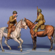 Plastic Kits Miniart 1/35 U.S. Horsemen. Normandy 1944 Plastic Model Kit