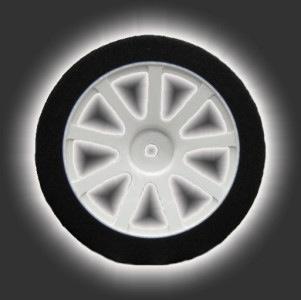Wheels GQ Front 26mm Shore 45 White Hard Wheel