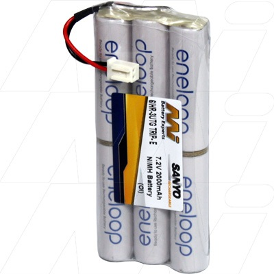 Battery NiMh MI Tx Battery Eneloop AA NiMH 7.2V R/C Hobby Battery Pack suits Hitec Aurora