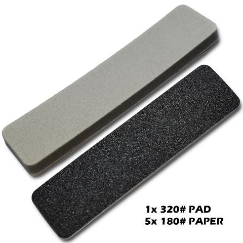 Tools SMS Sanding Plate Refill #180 Coarse & #320 Pad