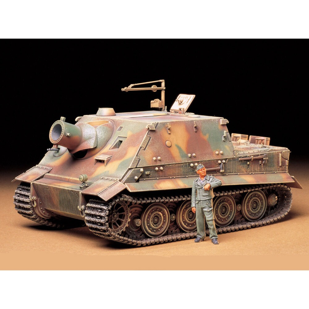 Plastic Kits Tamiya German 38cm Assult Mortar Sturmtiger 1/35 Scale