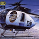 Plastic Kits ACADEMY (h) 1/48 Scale -  HughesS 500D Police Helicopter Plastic Model Kit