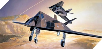Plastic Kits ACADEMY (h) 1/72 Scale -   F-117A Stealth Fighter/Bomber Nighthawk Plastic Model Kit