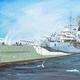 Plastic Kits TRUMPETER (h) 1/350 Scale HMS Kent Plastic Model Kit