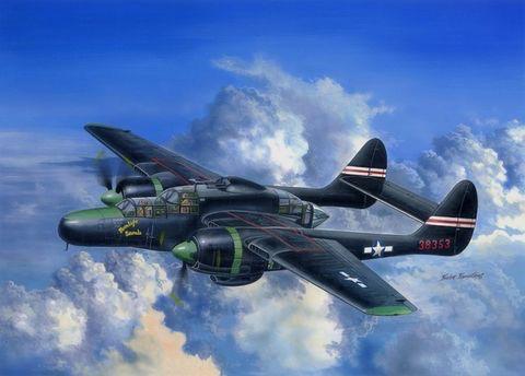 Plastic Kits HOBBYBOSS (h) 1:48 scale US P-61C Black Widow