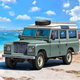 Plastic Kits REVELL (h) Land Rover Series III 1:24 Scale w/paint etc