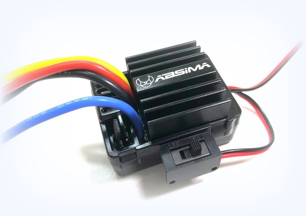 Parts Absima 1/10 Brushed ESC for Crawler & Boat, 40A