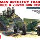 Plastic Kits Miniart 1/35 German Artillery Tractor T-70 (r) & Gun w/Crew Plastic Model Kit