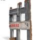 Plastic Kits Miniart 1/35 Ruined Building Plastic Model Kit