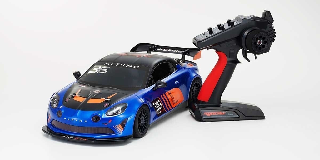 Cars Elect RTR KYOSHO 1/10 EP 4wd Fazer MK2 Alpine GT4
