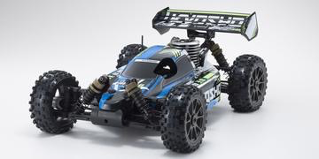Cars Elect RTR KYOSHO 1/8 GP 4WD Inferno Neo 3.0 Readyset T1 BLUE