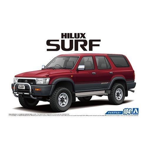 Plastic Kits Aoshima 1/24 Hilux Surf Wide (Toyota)