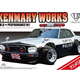 Plastic Kits Aoshima 1/24 LB Works Ken Mary 4Dr Patrol Car