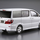 Plastic Kits Aoshima 1/24 Toyota NH10W Alphard G/V MS/AS '05