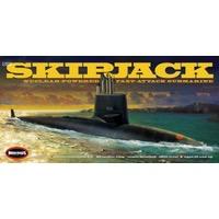 Plastic Kits MOEBIUS (i)  1/72 Scale -  USS Skipjack Submarine Plastic Model Kit