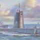 Plastic Kits AFV CLUB (i) 1/350 Scale -  USN Guppy II Class Submarine Plastic Model Kit