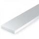 Static Models EVERGREEN 169 White Styrene Strip .080 X .250 (Pack 7)