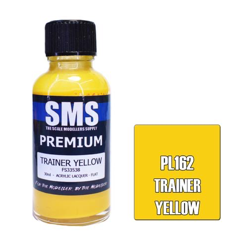 Paint SMS Premium Acrylic Lacquer TRAINER YELLOW FS33538 30ml