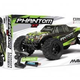 Cars Elect RTR MAVERICK  Phantom XT 1/10 Brushed Electric Monster Truck includes Battery & Charger