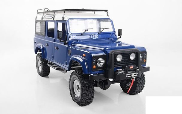 Cars Elect RTR RC4WD Gelande ll LWB RTR D110 Hard Body Set Collectors Edition.<br /> Includes Battery & Charger