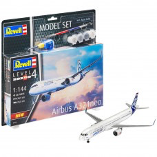 Plastic Kits REVELL (j) Airbus A321 Neo - 1:144 Scale