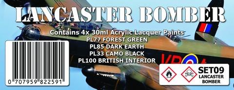Paint SMS LANCASTER BOMBER Colour Set