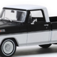 Diecast DDA Greenlight 1:43 Raven Black-White 1970 Ford F-100
