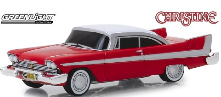 Diecast DDA Greenlight 1:64 Christine (1983) - 1958 Plymouth Fury (Evil Version)