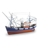 Static Models ARTESANIA 1/40 Scale -  Carmen II Wooden Ship Model