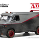 Diecast DDA 1:24 A Team 1983 GMC Vandura Weathered Version w/Bullet holes (Movie)