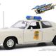 Diecast DDA 1:18 Smokey & the Bandit (1977) 1975 Plymouth Fury Mississippi Highway Patrol (Movie)