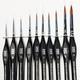 Paint SMS Brush Set (Sable) 10Pcs