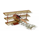 Toys ARTESANIA 1/16 Scale - Fokker DR. I The Red Baron's Triplane Wooden Model Kit