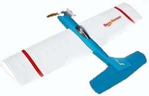 Aircraft C/L Brodak Barnstormer Kit Control Line 47 in Engine: .25 - .35