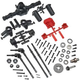 Parts Axial AR44 Locked Axle Set, Front and Rear, Complete, suit SCX10 II,