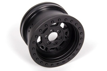 Parts Axial 2.2 Trail HD Wheels BLK ( Poison Spider )