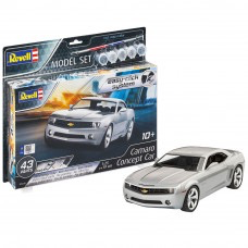 Plastic Kits REVELL (k) Camaro Concept Car (2006) Easy click System -  1:25 Scale (includes paint, brush & glue)