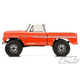 Parts PROLINE 1966 Chevrolet C-10 Clear Body For SCX10 - Cab And Bed