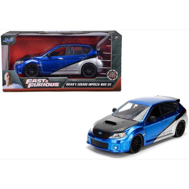 Diecast DDA Fast & Furious Brians Subaru Imprezza WRX STI Movie Diecast Car
