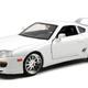 Diecast DDA  Brians Toyota Supra Gloss White Fast n Furious